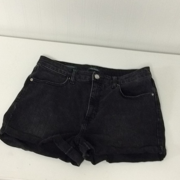 Wild Fable faded black denim High Waisted Shorts